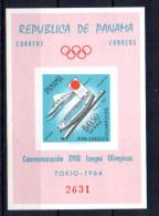 Panama 1964, Jeux Olympiques De Tokyo, Mi BK 18**  NON DENTELE  IMPERFORATE - Summer 1964: Tokyo