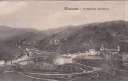 MASONE GENOVA -PANORAMA GENERALE- ORIGINALE D´EPOCA 100% - Genova (Genoa)