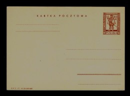 MAIL COURRIER Poste 400 Anniv Polish Pologne Postal Stationery Entiers Postaux Sp2998 - Post