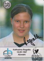 Original Women Football Autograph SG Wattenscheid 09 Team 2004 /05 KATHARINA ROGALLA - Autographes