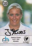 Original Women Football Autograph SG Wattenscheid 09 Team 2004 /05 JESSICA EWERS - Autographes