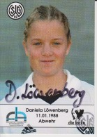 Original Women Football Autograph SG Wattenscheid 09 Team 2004 /05 Daniela Löwenberg - Autographes