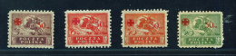 POLAND  -  1921  Red Cross Fund  Mounted Mint - Unused Stamps