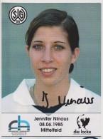 Original Women Football Autograph SG Wattenscheid 09 Team 2004 /05 JENNIFER NINAUS - Autographes
