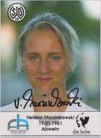 Original Women Football Autograph SG Wattenscheid 09 Team 2004 /05 VERENA MARZINKOWSKI - Autographes