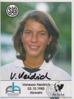 Original Women Football Autograph SG Wattenscheid 09 Team 2004 /05 VANESSA HEIDRICH - Autographes