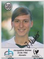 Original Women Football Autograph SG Wattenscheid 09 Team 2004 /05 JACQUELINE MAHLER - Autographes