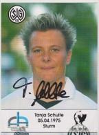Original Women Football Autograph SG Wattenscheid 09 Team 2004 /05 TANJA SCHULTE - Autographes