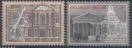 BELGIQUE Mi.nr.:2086-2087 Königliches Musikkonservatorium 1982 Neuf Sans Charniere / Mnh / Postfris - België