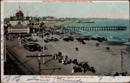 !  Old  Postcard Neptune Casino Santa Cruz, California, Pacificcrove, Trolley, Straßenbahn, Tramway, USA, Hugo Oregon - Other