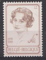 BELGIQUE Mi.nr.:2235 Todestag Von Königin Astrid 1985 Neuf Sans Charniere / Mnh / Postfris - België