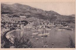 CPA Monte-Carlo Et Le Port De Monaco (3824) - Monaco
