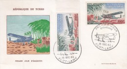 Chad- Cover + Stamp- Mnh** - Aerei