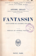 FANTASSIN SOUVENIR POILU 321 RI INFANTERIE GUERRE 1914 1918 COMBAT TRANCHEE DIVISION LA GAULOISE