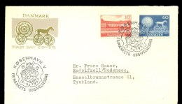 DENMARK FDC NATIONAL MUSEUM * 1957 - FDC