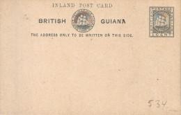 BRITISH GUIANA : ENTIER -POSTWAARDESTUK  H&G Nr. 4 ** NEW !! - Iles Vièrges Britanniques