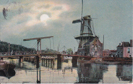 PC Windmill And Bridge - The Knight Series 757 - 1905 (3845) - Windmühlen