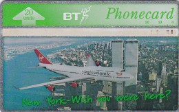 UK, BTA-135, Virgin Atlantic (1) - New York, Airplane.   CN : 570A - United Kingdom