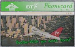 UK, BTA-136, Virgin Atlantic (2) - Boston, Airplane.   CN : 550G - United Kingdom