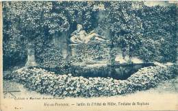 13 - AIX EN PROVENCE -  Jardin De L'Hôtel De Ribbe, Fontaine De Neptune - Aix En Provence