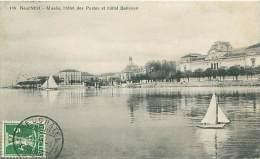NEUCHATEL - Musée, Hôtel Des Postes Et Hôtel Bellevue - NE Neuchâtel