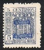 Especial Móvil 5 Cts. Guinea Nuevo Sin Char. Sin Goma - Ifni