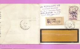 LA POPULAIRE -VIE. ORLEANS 45 QUARTIER GARE. RECOMMANDE POUR VENDÔME 41 - Autres