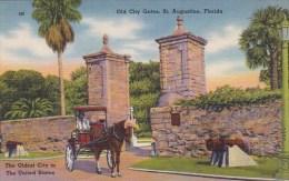 Old City Gates Saint Augustine Florida