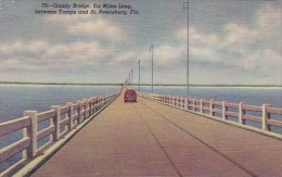 Gandy Bridge Six Miles Long Between Tampa And Saint Petersburg F
