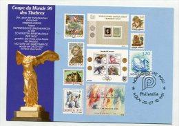 NORWAY - AK198847 Philatelia Köln ... 1991 - Norwegische Post - Maximum Cards & Covers
