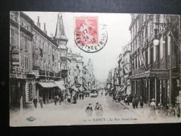 NANCY - 54 - La Rue Saint Jean - Phot Royer Et Cie - EEE1 - - Nancy