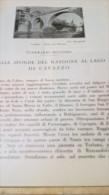 DALLE SPONDE DEL NATISONE AL LAGO DI CAVAZZO:CIVIDALE,TARCENTO,GEMONA,VENZONE  1930 ARTICOLO RIT. DA RIVISTA - Immagine Tagliata