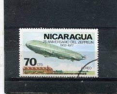 """NICARAGUA. 1977. SCOTT C922. ZEPPELIN TYPE OF 1977. ZEPPELIN """"SCHWABEN"""" - Nicaragua"""