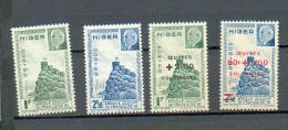 NIG 215 - YT 93 à 96 ** - Unused Stamps