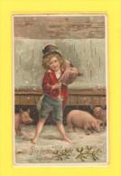 Postcard - Greetings Card, New Year   (15038) - Año Nuevo