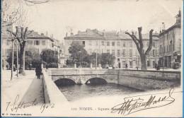 -- 30 -- NIMES -- SQUARE ANTONIN -- ANIMATION -- 1902 - Nîmes