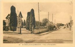 76 ST-NICOLAS-D'ALIERMONT RUE D'ENVERMEU - Altri Comuni