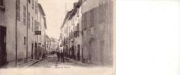 CUERS Route De TOULON CPA Circulée 1918 - Cuers