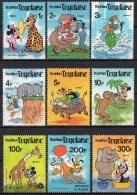 Togo - Disney - 1980 - Yvert N° 999 à 1007 ** + BF 143 & BF 144 ** - Disney