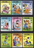 Anguilla - Disney - 1981 - Yvert N° 400 à 408 ** + BF 37 ** - Disney