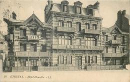 76 ETRETAT HOTEL HAUVILLE - LL - Etretat