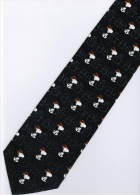 Snoopy Dog Play Golf Snowman Cartoon Novelty Fancy NECK TIE - Other Collections