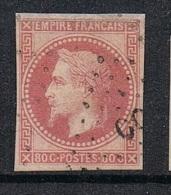 COLONIES GENERALES N°10 Oblitération De Cochichine - Napoleon III