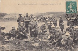 Militaria - Manoeuvre / Infanterie / Café - Manoeuvres