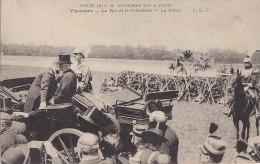 Evènements - Réception Roi Alphonse XIII Espagne à Paris - Automobile - Réceptions