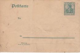 Deutsches Reich 1902 Mi P 64 X Ungelaufen [040514BI] @ - Entiers Postaux