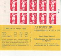 2720-C2  Carnet    Estampillé Daté 03.09.92-066 Et RGR-2  081 Au Choix - Carnets