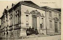 11 CONQUES - La Mairie - Animée - Conques Sur Orbiel