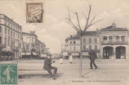 47 TONNEINS PLACE DU CHATEAU ET RUE GAMBETTA - Tonneins