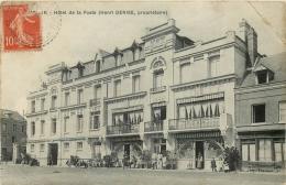 76 DUCLAIR HOTEL DE LA POSTE ANIME - HENRI DENISE PROPRIETAIRE - Duclair